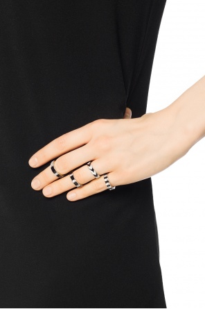 Set of 4 rings od Saint Laurent